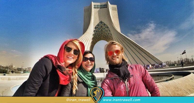 جواز سفر السياح الأجانب في إيران دون ختم الدخول والخروج