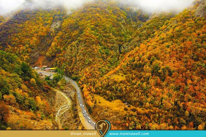 شمال إيران جالوس